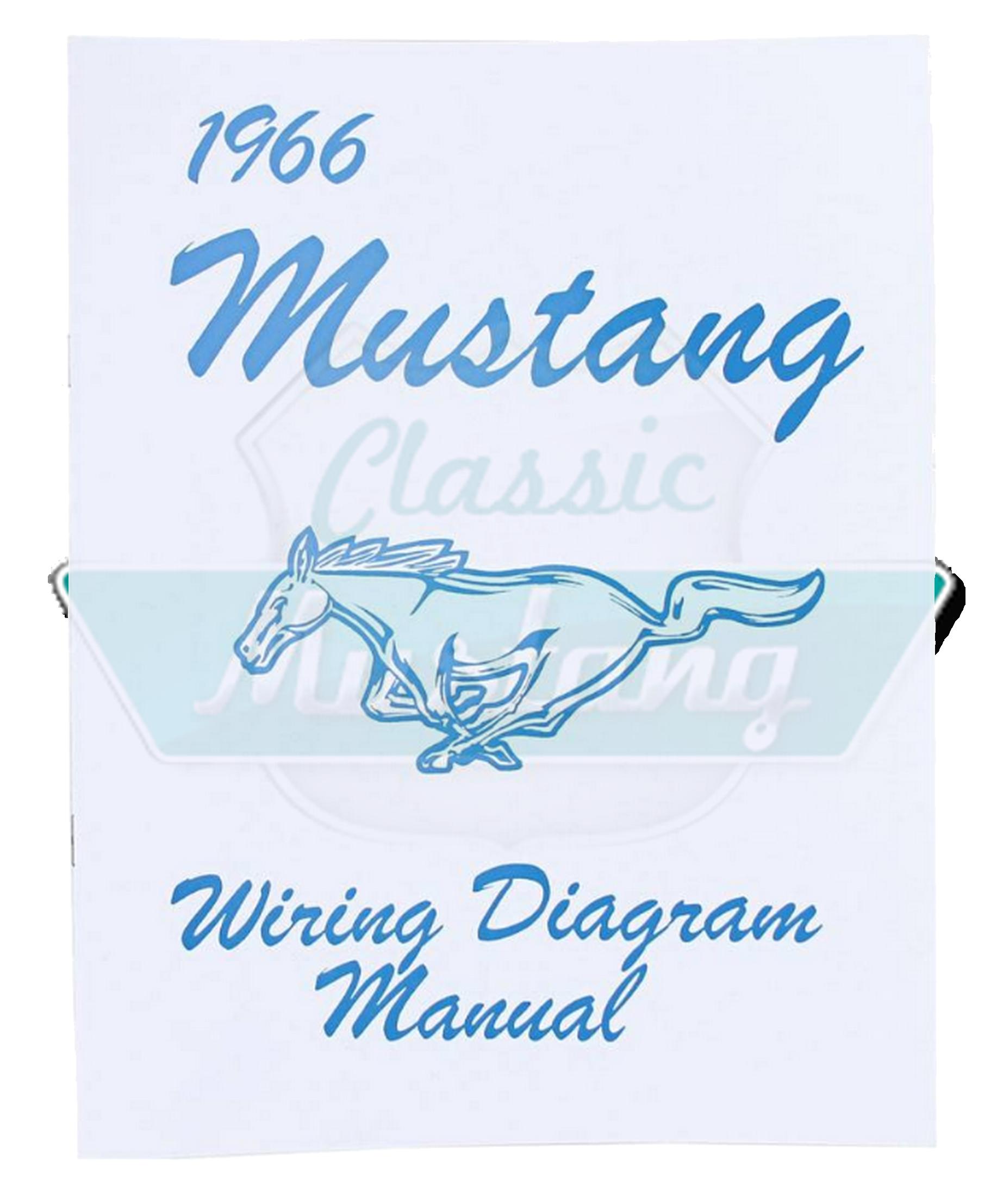 1966 mustang diagram: manuel de c�blage ford mustang 1966 92-003 :  classic